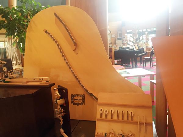 ピアノの響板 完成品